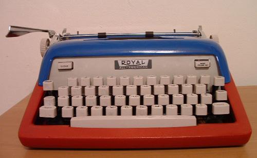 Royal All-American Typewriter