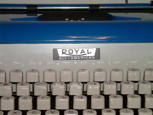Royal All-American typewriter 2