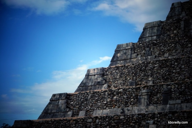 El Castillo at Chichen Itza.